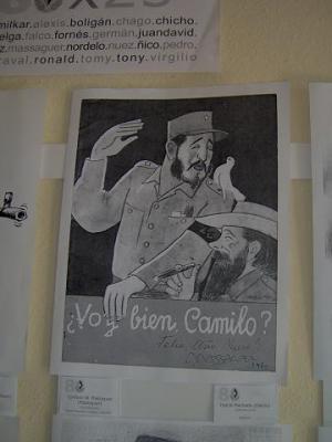 Caricaturas sobre Fidel Castro