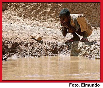 En el Día Mundial del Agua  mueren niños por enfermedades diarreicas