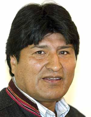 Evo Morales en huelga en defensa de su pueblo