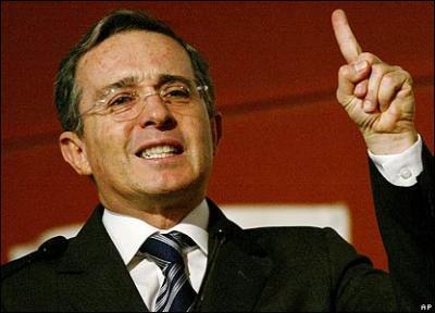 La payasada antiterrorista del  Presidente  Uribe