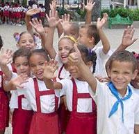 Niños cubanos tienen todos los  Derechos del Niño.